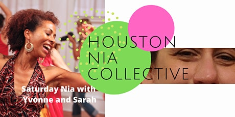 Saturday Nia Classes with Yvonne and Sarah tickets