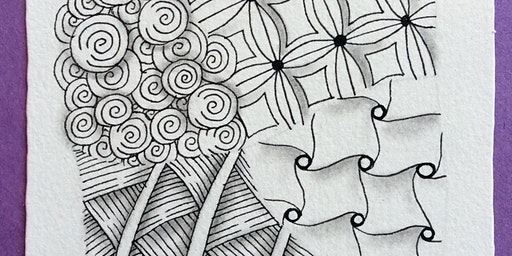 Introduction to Zentangle® Class on Wednesday, January 29, 2020