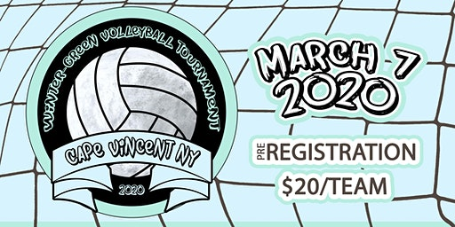 2020 Winter-Green Volleyball Tournament