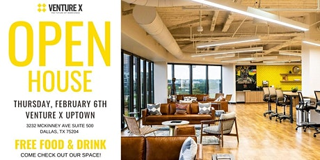 Open House Venture X Uptown! tickets