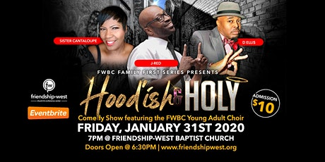 Hood'ish and Holy Comedy Show tickets