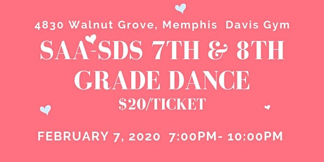 SAA-SDS 7th & 8th Grade Dance tickets