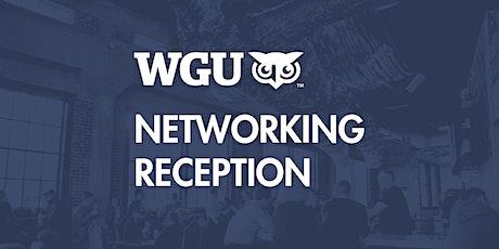 WGU Networking Reception - Denver 2020 tickets