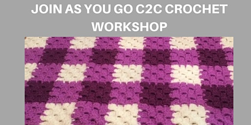 Join-As-You-Go C2C Crochet Workshop