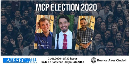 MCP Election 2020 I AIESEC Argentina