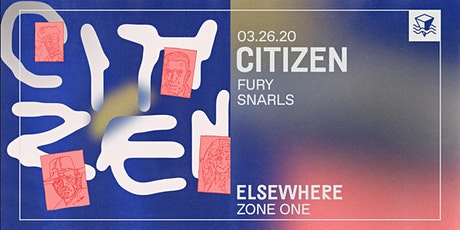 Citizen @ Elsewhere (Zone One) tickets