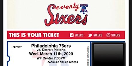 Philadelphia 76ers Ticket Contest tickets