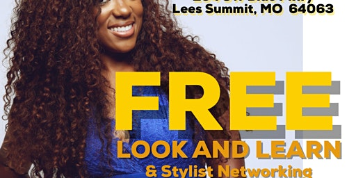 FREE - 1 hour sew-in LOOK and LEARN class/Hair Stylist networking