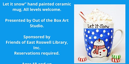 Adult Art Class: Ceramic Mugs