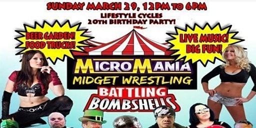 Midget Wrestling at Lifestyle Cycles in Anaheim!
