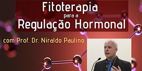 Fitoterapia para a Regulação Hormonal ingressos