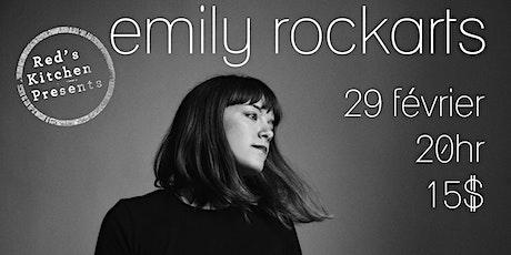 Emily Rockarts live @Red's Kitchen billets