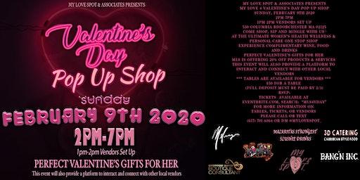 "MLS & Associates Presents ""VALENTINE'S DAY POP-UP SHOP"" #MLS4VDAY"