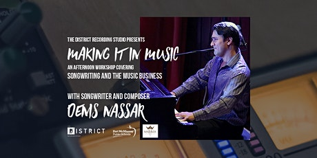 Songwriting Workshop with Denis Nassar tickets