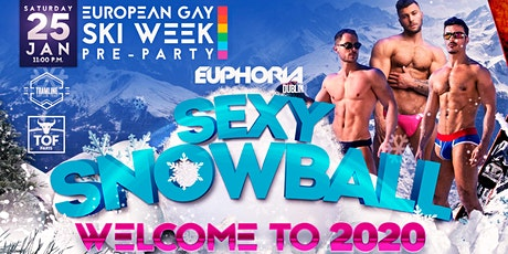 EUPHORIA SEXY SNOWBALL - WELCOME TO 2020 - DJ Sharon O'Love tickets