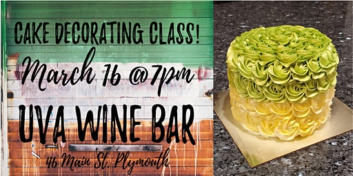 SOLD OUT - St. Patrick's Day Cake Decorating Class