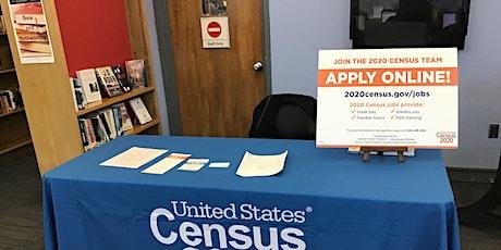 2020 Census Recruitment tickets