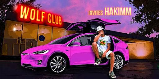 WOLF CLUB invites Hakimm // 14 feb