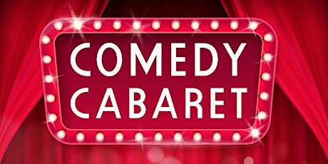 Comedy Cabaret February 21st Show tickets