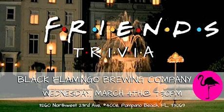 Friends Trivia at Black Flamingo Brewing Company tickets