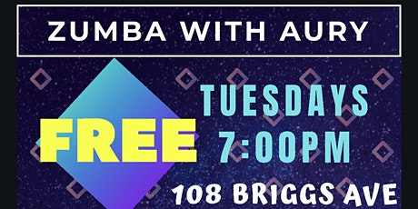 FREE ZUMBA - EVERY TUESDAY - 7pm - Richmond Hill tickets