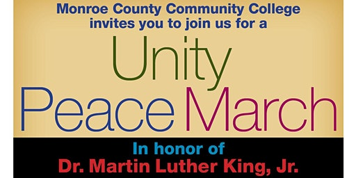 Unity Peace March, Hosted by MCCC
