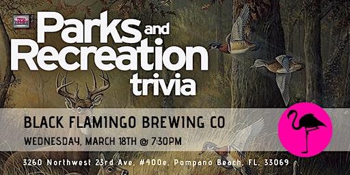 Parks & Rec Trivia at Black Flamingo Brewing Company