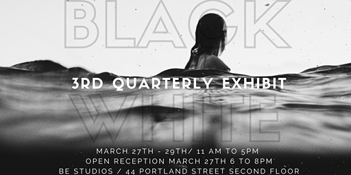 3rd Quarterly Photography Exhibit: Black White, 2020