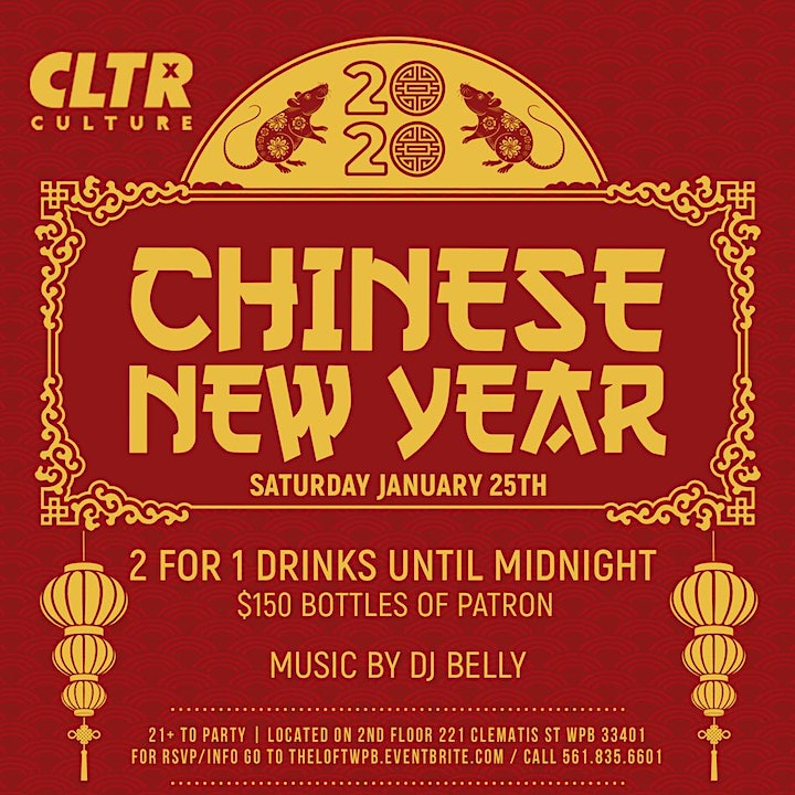 CLTR Saturdays Presents: Chinese New Year 2020 image