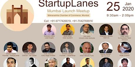 StartupLanes Mumbai Launch Meetup tickets