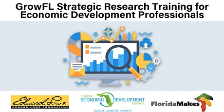 GrowFL Strategic Research Training for Economic Development Professionals tickets