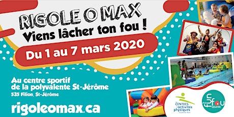 Rigole o max de la relâche  - 1 mars 2020 tickets