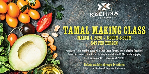 Kachina's Tamal Making Class!