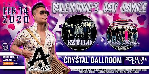 AJ Castillo | Eztilo | Analiz Mireya Y Kadencia - February 14, 2020 in Crystal City, TX