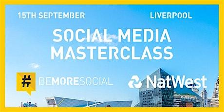 Social Media Masterclass  #BeMoresocial #NatWestBoost tickets