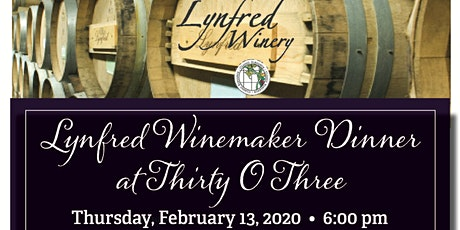 DoubleTree Lisle Naperville & Lynfred Winery Wine Dinner tickets