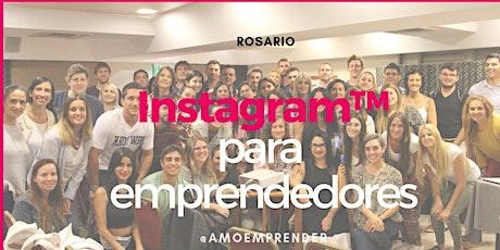 Instagram para Emprendedores en Rosario - Abril entradas