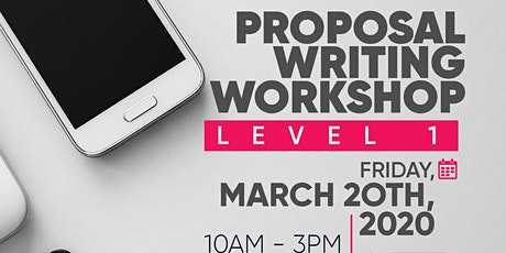 Proposal Writing Workshop Level I tickets