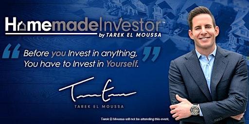 Free Homemade Investor by Tarek El Moussa Workshop! Newark Jan 25th