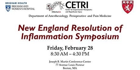 New England Resolution of Inflammation Symposium tickets