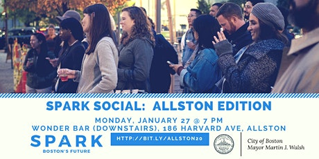 SPARK SOCIAL:  ALLSTON EDITION tickets