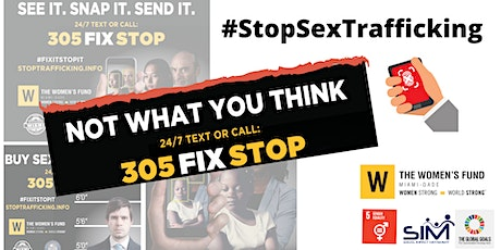 STOP SEX TRAFFICKING tickets