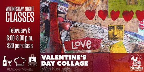 Wednesday Class: Valentine's Day Collage tickets
