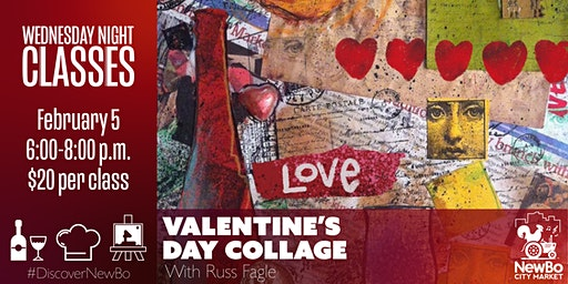 Wednesday Class: Valentine's Day Collage