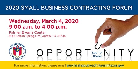 2020 Small Business Contracting Forum tickets