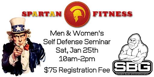 Paul Sharp MEN & WOMEN'S Self Defense Seminar