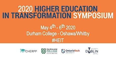 Higher Education In Transformation (HEIT) Symposium 2020 tickets