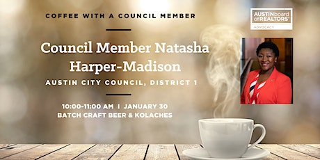 Coffee with Council Member Harper-Madison tickets
