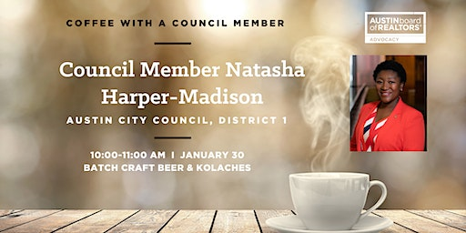 Coffee with Council Member Harper-Madison