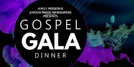 Gospel Gala Dinner tickets